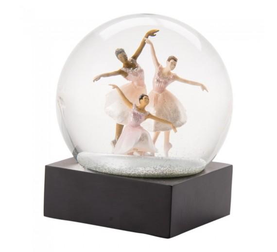 Snow Globe Three Dancers